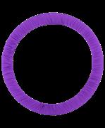 Чехол для обруча без кармана D 650, фиолетовый