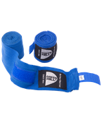 Бинт боксерский BC-6235a, 2,5м, х/б, синий