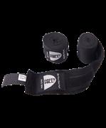 Бинт боксерский BC-6235a, 2,5м, х/б, черный