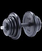 Гантель разборная обрезиненная DB-702 20 кг