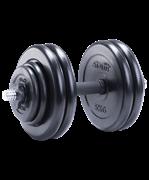 Гантель разборная обрезиненная DB-702 25,5 кг