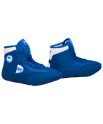 Обувь для борьбы GWB-3052/GWB-3055, синяя/белая