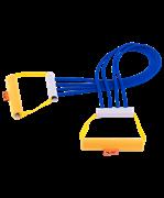 Эспандер плечевой V76 4 струны резиновый взрослый