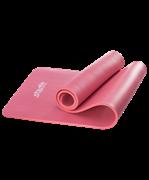 Коврик для йоги FM-301, NBR, 183x58x1,2 см, красный