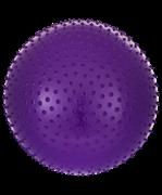 Мяч гимнастический массажный GB-301 75 см, антивзрыв, фиолетовый