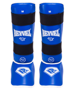 Защита голень-стопа RV- 511, к/з, синяя