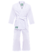 Кимоно дзюдо MA-301 белый, р.000/110