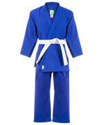 Кимоно дзюдо MA-302 синее, р.2/150