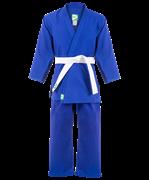 Кимоно дзюдо MA-302 синее, р.6/190