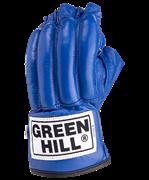 Перчатки снарядные ROYAL CMR-2076, шингарты, кожа, синие