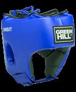 Шлем открытый ORBIT, HGO-4030, детский, кожзам, синий