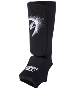 Защита голень-стопа SIC-6131, х/б, черная