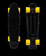 Круизер пластиковый Fighter, 22''x6'', Abec-7 Carbon