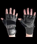 Перчатки атлетические SU-125, черные