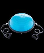 """Полусфера """"BOSU"""" GB-502 PRO с эспандерами, с насосом, синий"""