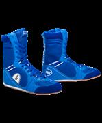Обувь для бокса PS005 высокая, синяя