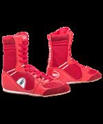Обувь для бокса PS005 высокая, красная