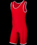 Трико борцовское, MA-401, 30-42, красный