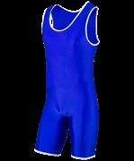 Трико борцовское, MA-401, 30-42, синий