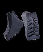 Комплект наконечников для скандинавских палок, 2 шт., чёрный