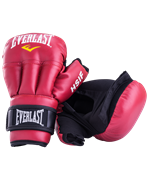 Перчатки для рукопашного боя HSIF RF3112L, 12oz, L, к/з, красный