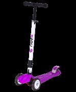 Самокат 3-колесный Smart 3D, 120/80 мм, фиолетовый