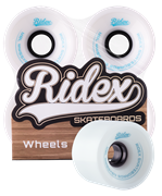 Комплект колес для лонгборда SB, белый, 4 шт.