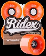 Комплект колес для лонгборда SB, оранжевый, 4 шт.