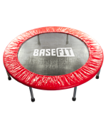 Батут TR-101 114 см, красный