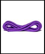 Скакалка для художественной гимнастики RGJ-104, 3м, фиолетовый