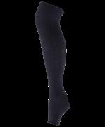 Гетры для танцев GS-101, полушерсть, 45 см, черный