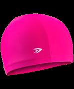 Шапочка для плавания, полиамид, розовый