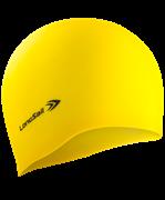 Шапочка для плавания, силикон, желтый