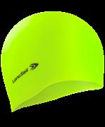 Шапочка для плавания, силикон, зеленый