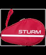 Чехол для ракетки для настольного тенниса CS-01, для одной ракетки, красный