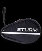 Чехол для ракетки для настольного тенниса CS-02, для одной ракетки, черный/прозрачный