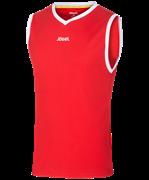 Майка баскетбольная JBT-1001-021, красный/белый