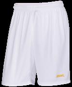 Шорты баскетбольные JBS-1120-014, белый/желтый
