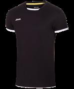 Футболка волейбольная JVT-1030-061, черный/белый