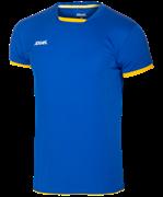 Футболка волейбольная JVT-1030-074, синий/желтый