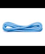 Скакалка для для художественной гимнастики RGJ-304, 3м, голубой/серебряный, с люрексом