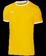 Футболка футбольная JFT-1010-041, желтый/белый