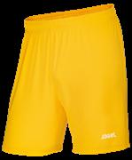 Шорты футбольные JFS-1110-041, желтый/белый