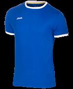 Футболка футбольная JFT-1010-071, синий/белый