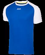 Футболка футбольная JFT-1011-071, синий/белый