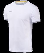 Футболка футбольная JFT-1010-018, белый/серый