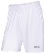 Шорты футбольные JFS-1110-018, белый/серый