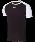Футболка футбольная JFT-1011-061, черный/белый