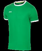 Футболка футбольная JFT-1010-031, зеленый/белый
