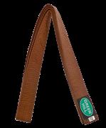 Пояс для карате KBO-1014, 5/280, коричневый